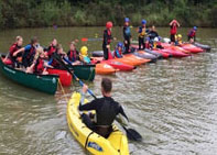 cubs canoeing